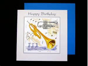 Happy Birthday Trumpet