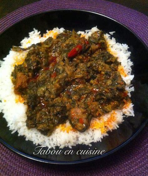 recette cuisine malienne le borokhé sauce arachide et épinard tabou en cuisine