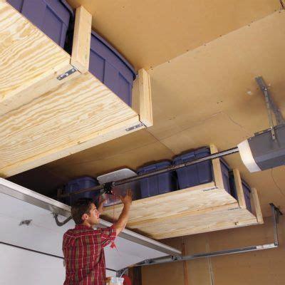 Ceiling Garage Storage Ideas by 19 Cheap Garage Storage Projects You Can Diy Garage