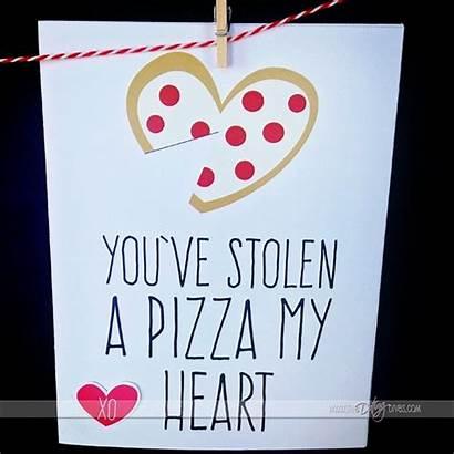 Valentine Boyfriend Valentines Cards Diy Gifts Pizza