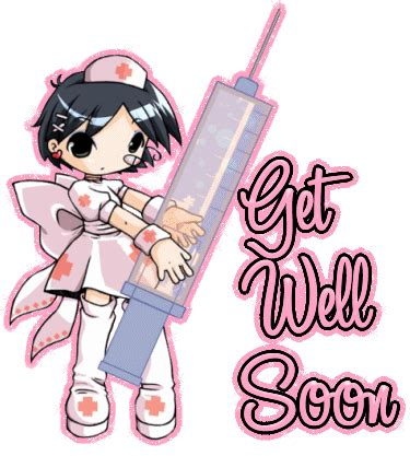 anime gif get well soon get well soon myspace glitter graphics profile comments