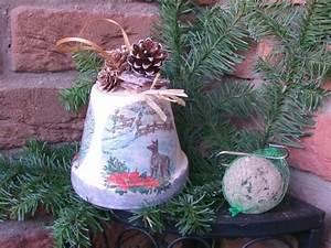 Meisenknödelhalter Selber Machen : futterglocke winterzauber meisenkn delhalter von belinda auf weihnachten ~ Buech-reservation.com Haus und Dekorationen