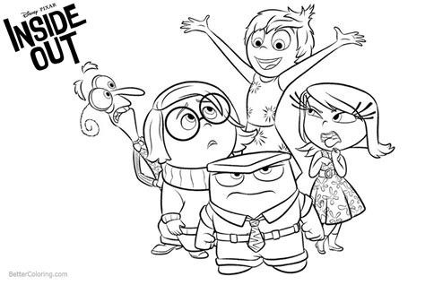 characters pages coloring pages