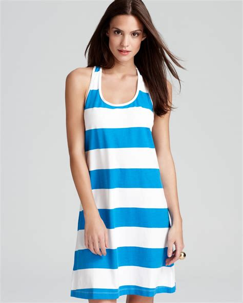 Lyst Tommy Bahama Big Stripe Short Tank Swimsuit Cover