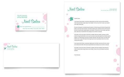 Nail Salon Business Card & Letterhead Template Design Business Card Board Game Gsm Weight Gold Leaf Printing Maker For Ipad Template Front Mockup Insider Green Name Generator