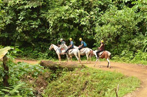 horseback riding manuel antonio rica costa tours