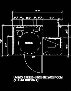 ada requirement sample drawings With autocad ada bathroom blocks