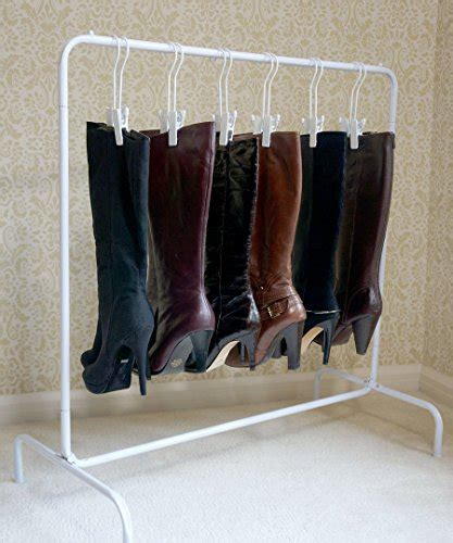 boot hangers for closet the boot garment rack with hangers fits in most closets