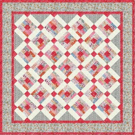 log cabin quilt pattern scrappy modified log cabin quilt pattern by suelynn craftsy