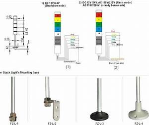 Lta-205 Multi-signal Lamp Signal Tower Light Industrial Signal Tower Light  Cnsn