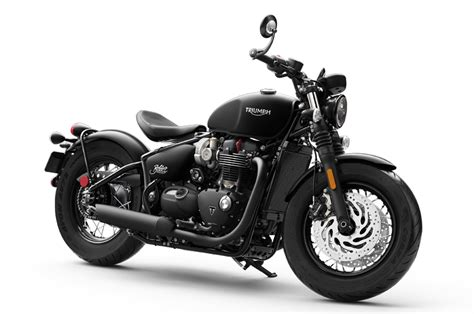triumph bonneville bobber black unveiled autocar india