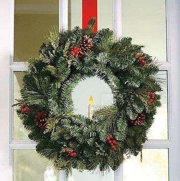 live christmas wreaths classic window christmas wreath