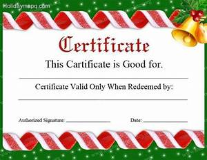 Gift certificate template free holidaymapqcom for Free christmas gift certificate template