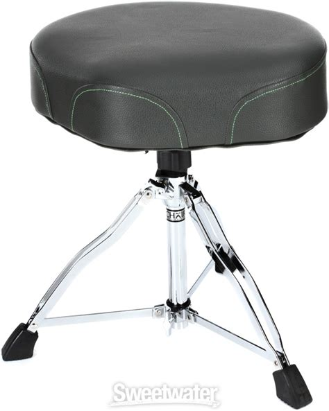 tama 1st chair ergo rider throne gray green embroidered