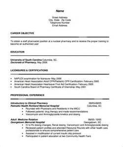 resume for pharmacist pdf pharmacist resume 10 documents in pdf sle templates