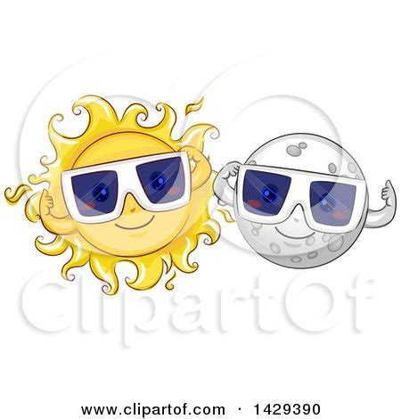Solar Eclipse Glasses Clip Art Free