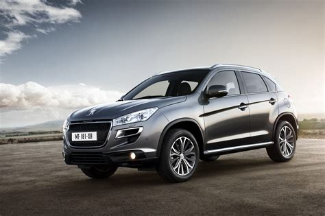 Peugeot Crossover by Peugeot 4008 Crossover New Photos Released Autoevolution