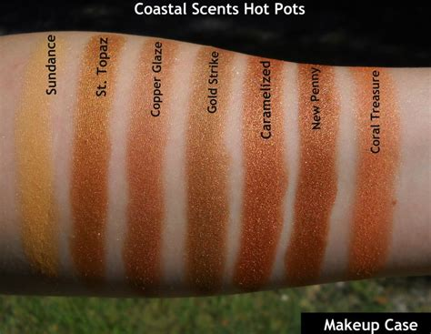 pots coastal scents 464 best images about makeup swatches vol iii on coastal scents decay