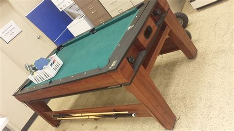 all in one pool table all in one reversible pool ping pong and ice hockey