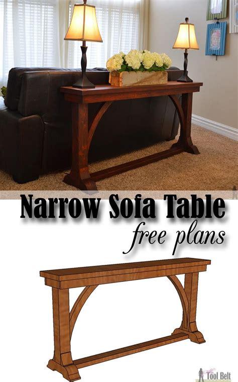 narrow sofa table narrow sofa table diy sofa table