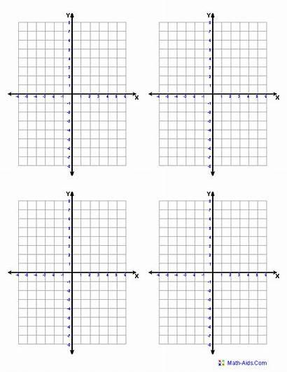 Coordinate Graph Paper Cartesian Four Worksheets Plane