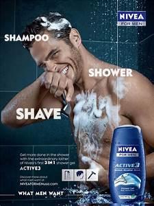 Nivea shampoo men