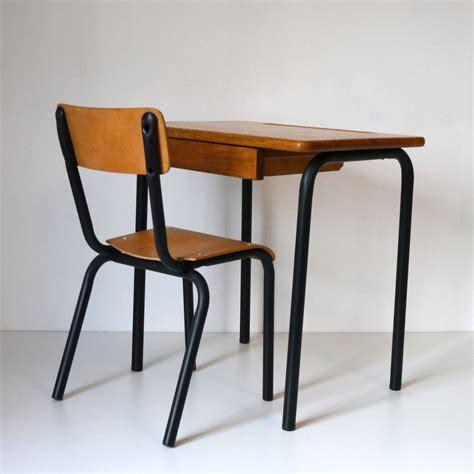 bureau ecolier bureau ecolier noir la marelle mobilier vintage pour