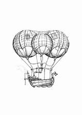 Airship Drawings Blimp Drawing Steam Limited Edition Steampunk Prints Getdrawings Aaron Paintingvalley sketch template