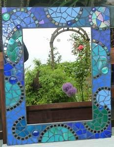 Spiegel Im Garten : mosaik spiegel individuelle mosaikspiegel m bel und wohn accessoires pr sentiert ~ Frokenaadalensverden.com Haus und Dekorationen