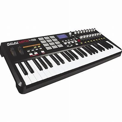 Midi Keyboard Controller Usb Mpk49 Akai Professional