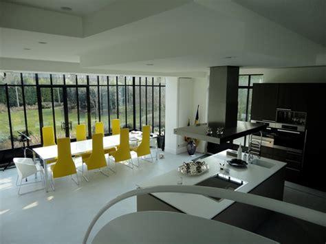 cuisine style atelier artiste cuisine véranda