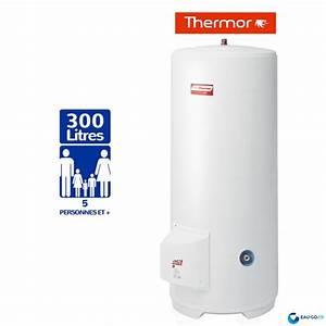 Prix Cumulus 300l : chauffe eau electrique 300l thermor duralis vertical sur socle ~ Edinachiropracticcenter.com Idées de Décoration