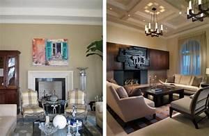 Wohnzimmer Vorher Nachher : wohnung renovierung im trend inspirierende vorher nachher bilder ~ Watch28wear.com Haus und Dekorationen