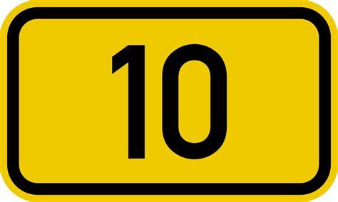 Bundesstraße 10 Wikipedia