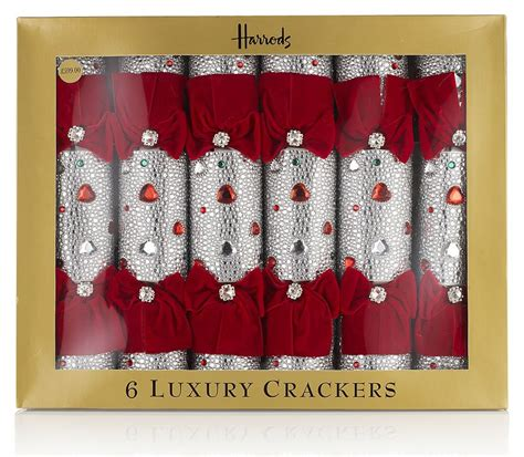 luxury christmas crackers from harrods