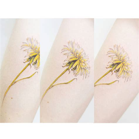 A Dandelion Flower   #tattooistbanul Tattoos