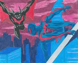 Batman Beyond Vs Spider-Man 2099 by Bluexorcist93 on ...