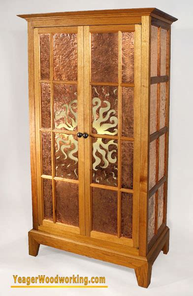 cabinet rising sun vintage yeager woodworking heirloom furniture 5070