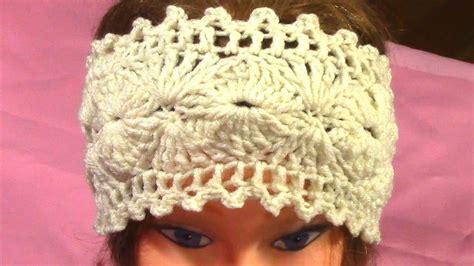 diy hot crochet headband tutorial pattern youtube