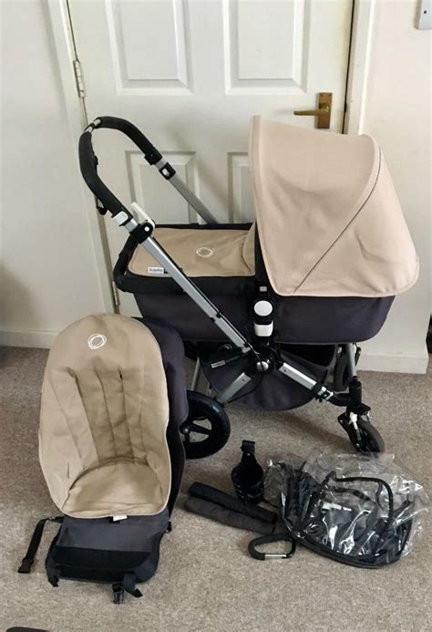 bugaboo cameleon 2 beige charcoal bugaboo cameleon 2 with accesories in