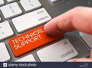 Technical Support on Keyboard Key Concept Stock Photo ...