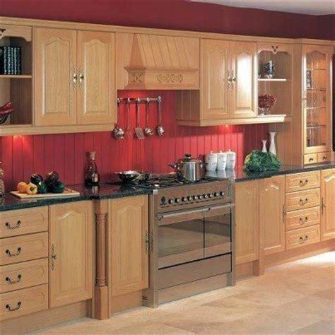 red beadboard backsplash wood cabinets wred backsplash