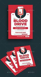 Brochure Download Template Blood Drive Event Flyer Template Psd Ai Blood Drive