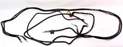 trunk  engine positive battery cables   vw phaeton
