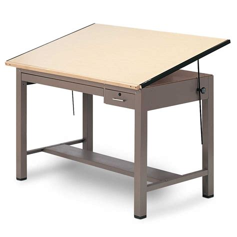 drafting table desk mayline ranger drafting table