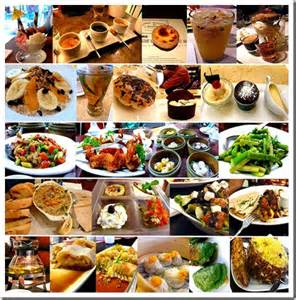 different types different types of food