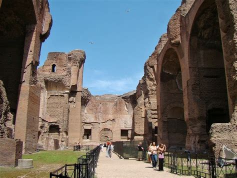 hidden history  baths  caracalla wandering jana