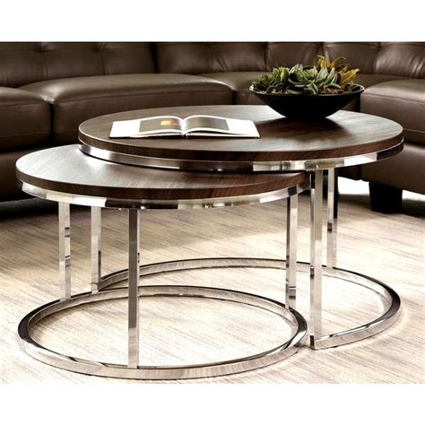They come in various shapes, such as square, round and even triangular. Round Nesting Coffee Tables Canada - The Coffee Table