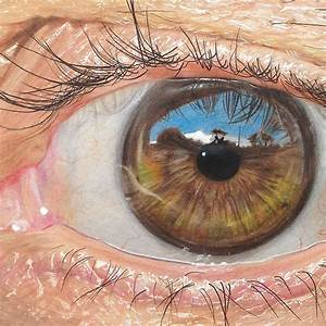 19-Year-Old Artist Draws Hyper-Realistic Eyes Using Only ...