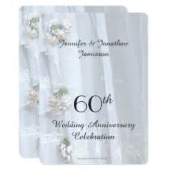 16 wedding anniversary 60th wedding anniversary invitations announcements zazzle